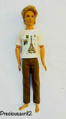 New Barbie Doll Ken Doll clothes outfit clothing  t/shirts pants