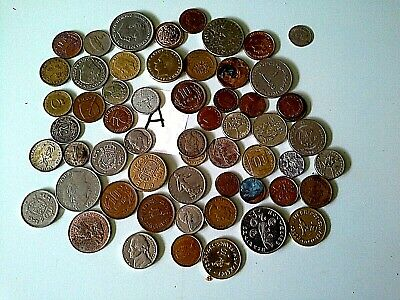 QUANTIY of WORLD COINS( my dr 2)