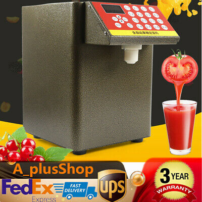 Bubble Tea Equipment Fructose Quantitative Machine Fructose Dispenser 110V USA