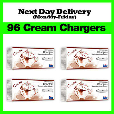 96 Nitrous Oxide Cream Chargers / Canisters 8g N2O NOS NOZ - Best Price on eBay