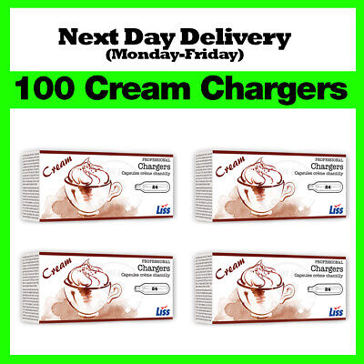 100 Nitrous Oxide Cream Chargers / Canisters 8g N2O NOS NOZ - Best Price on eBay