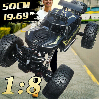 4WD RC Monster Truck Off-Road Vehicle 2.4G Remote Control Crawler Electric Cars