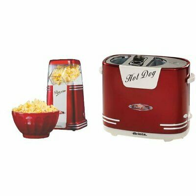 Ariete popcorn popper + hotdog party time (Eit)