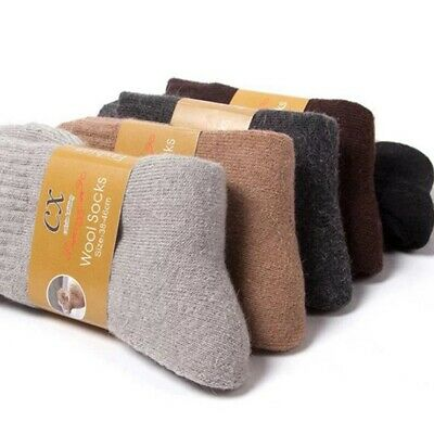 Men's Winter Socks Wool Cashmere Comfortable Thick Socks Outdoor Sports Socks