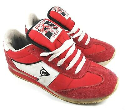 Rare Vintage 1984 classic Dunlop starrunner sports shoes trainers size 5