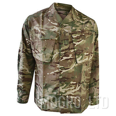 Genuine British Army MTP Multicam Tropical Barrack Combat Shirt/Jacket