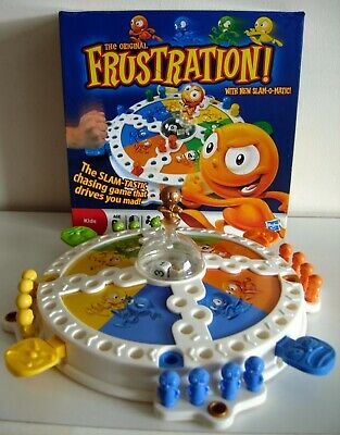The Original Frustration Board Game with Slam-O-Matic - Complete
