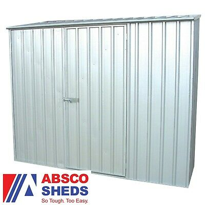 Metal Garden Shed 7x5 Outdoor Storage Store Building Container Pent Roof 7ft 5ft