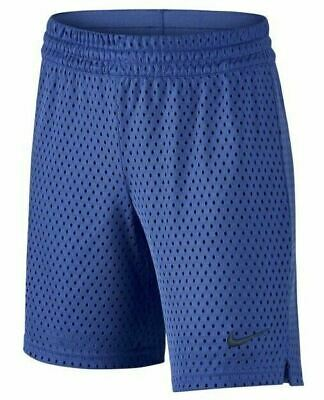 Nike Kids Girls 7'' Athletic Shorts Comet Blue Size Small