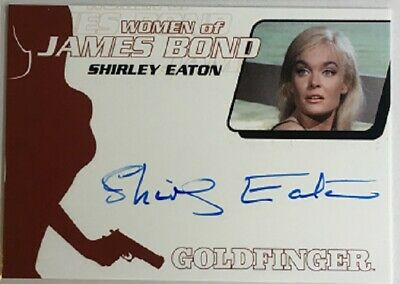 Shirley Eaton Autograph from James Bond Archives 2014 Edition, Women of Bond