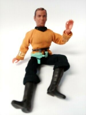 "1974 Mego Star Trek Captain Kirk 8"" Action Figure Doll"