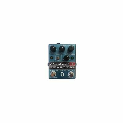 Daredevil Cocked & senza Paura - 2-in-1 Distortion & Cocked Wah Pedale