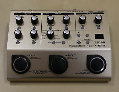 Boss VE-8 Acoustic Singer (scratches throughout; missing manual)