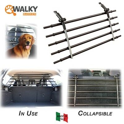 Walky Barrier Folding Universal Auto Pet Safety Barrier Pet Safety Car Fence.