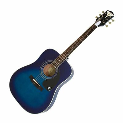 Epiphone PRO-1 Acoustic TL - Western Guitar in Translucent Blue