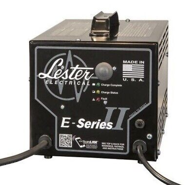 LESTER E-Series II SCR Battery Charger Made In The USA