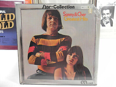 SONNY & CHER Greatest Hits - Star Collection - LP cut corner