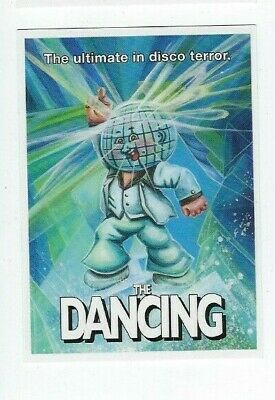 2018 Garbage Pail Kids oh the Horror-ible Film Poster 7 The Dancing