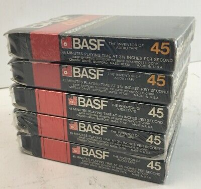 Basf Performance Series 45 Minute Blank 8 Track New Sealed