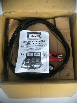 Draper 500A Battery Load Tester BLT500, 55971