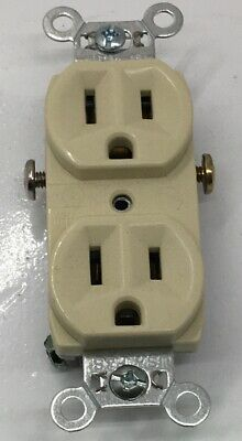 [Pack Of 10] Cr15-I P&S Duplex Receptacle 15A 125V Commercial Grade Side Wi