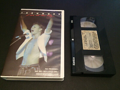 Icehouse Live At The Ritz Australian Vhs Video Festival Measure For Measure Tour