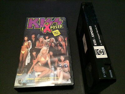 Kiss Exposed Australian Vhs Video