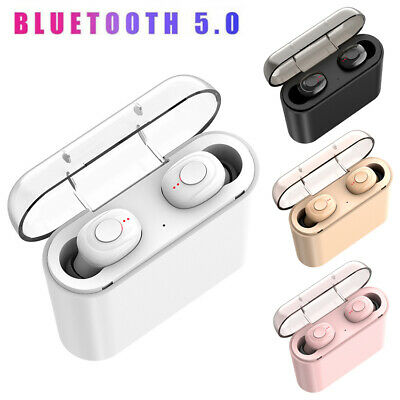 X18 True Bluetooth 5.0 Headset Mini TWS Wireless In-Ear Stereo Earphones Earbuds