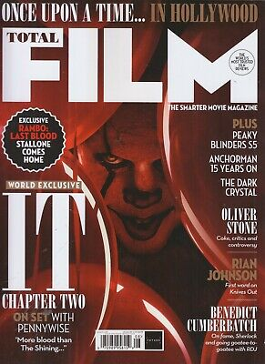 It Chapter Two Total Film Magazine August 2019 Issue #288 Pennywise