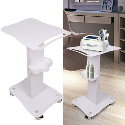 Movable Trolley Stand Cavitation IPL Beauty Machine Cart SPA Salon + Push Handle