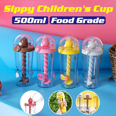 Creative Silicone Kids Baby Sippy Lids Stretchable Spill Proof Cup for Drinking