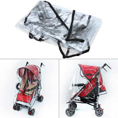 Universal Strollers Pushchairs Baby Carriage Waterproof Cover Windshield Buggys