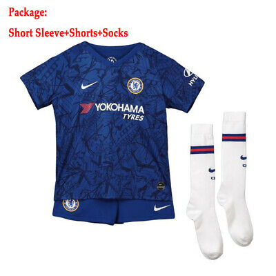 19/20 Soccer Suits Traing Shirts Jerseys Shorts Socks For Kids Adults SML 3-14Y
