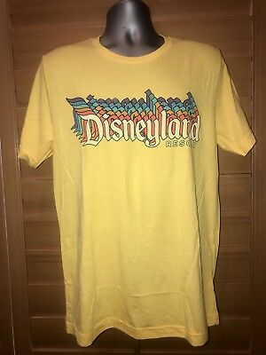 Disney Parks Old School Disneyland Resort Adult T-Shirt Small Nwt