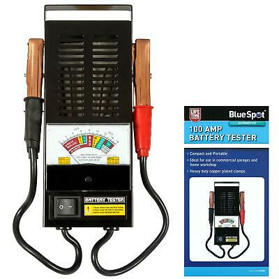 BlueSpot Car Battery & Alternator Charging System Tester for 6V/12V Batteries