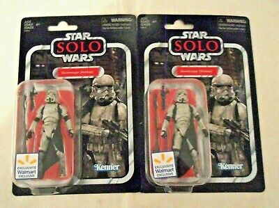 2 Star Wars Vintage Collection Mimban Stormtrooper Walmart Exclusive Vc123  Solo