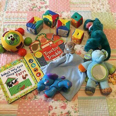 Big Colourful Baby Toy Bundle, Bright Baby Toddler Toys #1