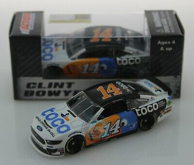 2019 CLINT BOWYER #14 TOCO WARRANTY 1:64 Action Diecast In Stock Free Shipping