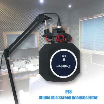 Alctron PF8 Studio Mic Screen Acoustic Filter Desktop Recording Wind Screen #BT