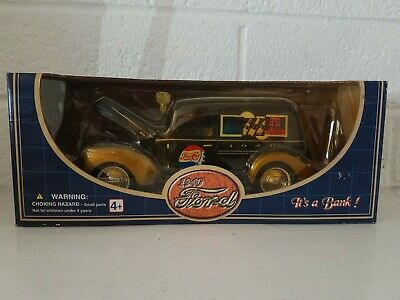 Pepsi Cola Diecast 1940 Ford Bank  Golden Wheel Classic New In Box