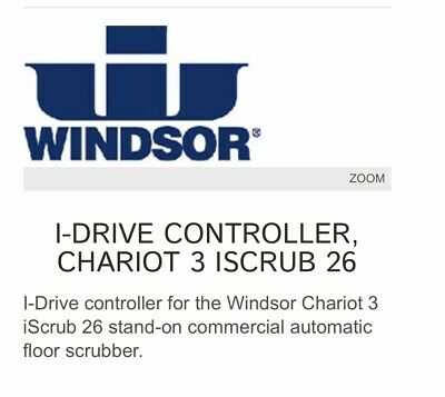 Windsor Chariot 3 Floor Scrubber Controller Board OEM Part 86361870