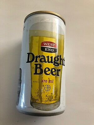 COLLECTABLE  West End Draught BEER CAN, 370ml