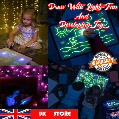 UK Draw With Light Fun And Developing Toy Drawing Board Magicdraw Educational