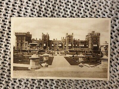 Windsor Castle, East Terrace - Vintage Photochrome Postcard