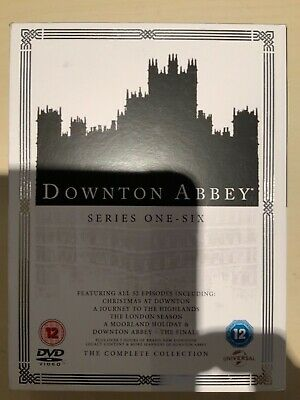 Downton Abbey: The Complete Collection (Box Set) (Series 1-6) [DVD]