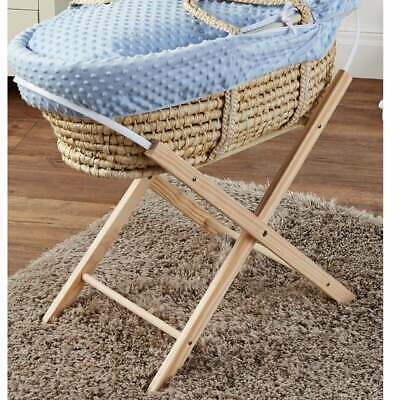 Natural Moses Basket Folding Stand