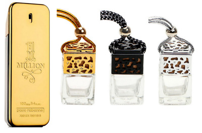Paco Rabanne 1 Million Inspired Car Air Freshener Scent Perfume Ornament Designe