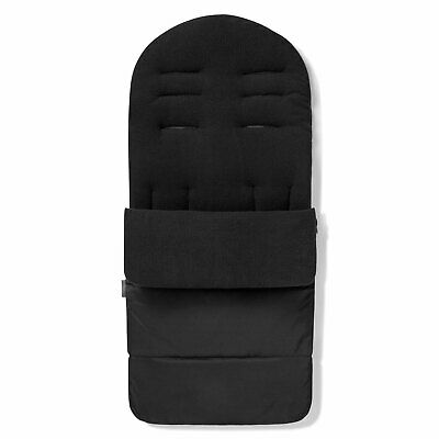 Premium Pushchair Footmuff / Cosy Toes For Quinny Buzz Xtra - Black Jack