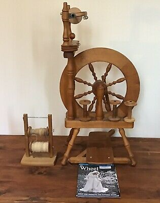 Ashford Spinning Wheel. Made In New Zealand.