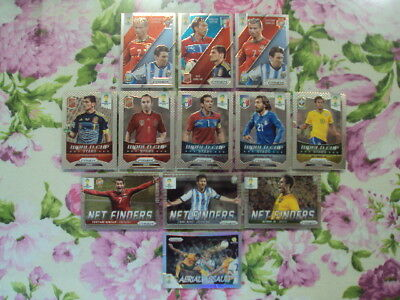 Panini Prizm. 2014 Fifa World Cup. Brasil. 12 Cards